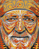 Tribal: Willie Nelson by jengartist