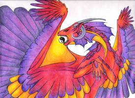 Amethyst Blaze by Ravean