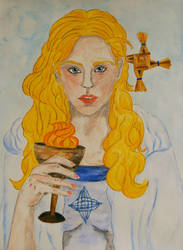 Brigid of Kildare by RowanLewgalon