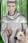 Saint Bernard de Clairvaux by RowanLewgalon