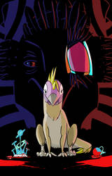 Impendia Comic - Chik-Tak and Queen Soruicus by EvinAR