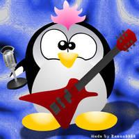 Rocking Pinguin by Zazou8888