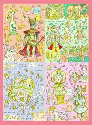 doodle book pt 1 by Mebuu