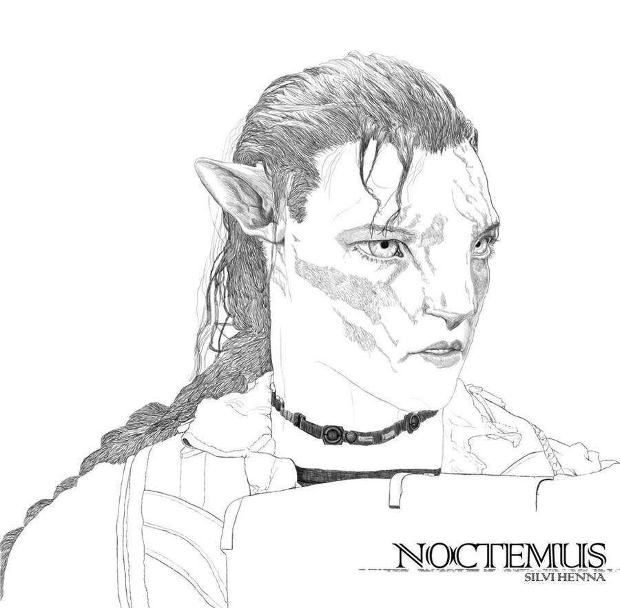 Avatar Movie Coloring Pages: Line Art By Noctemus On DeviantArt