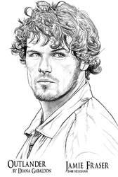 Outlander - Jamie Fraser by noctemus