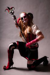 Dark Knight Harley Quinn by BangBangNeko