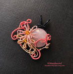 Edna - Tales of Zestiria Pendant by craftsbyblue