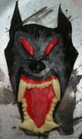 Werewolf Head Buckle Cover by TheOriginalTah