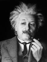 Albert Einstein by jjkiefer