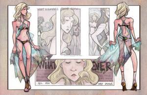 Miss OC Round 2- Angel by bunnychan13