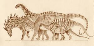 Dicraeosauridae by Kahless28