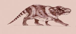 Repenomamus giganticus by Kahless28