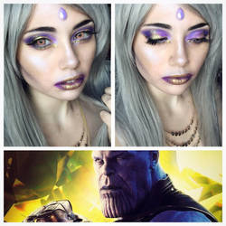 Avengers Series: Thanos by LovelyLiar