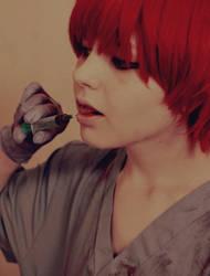 Puppet has been done, Chiyo-baasama by Hannami94