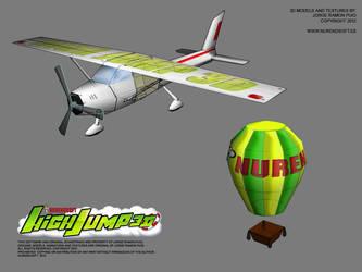 HIGH JUMP 3D - Game 3D models 01 by Nurendsoft