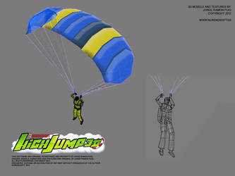 HIGH JUMP 3D - Game 3D models 02 by Nurendsoft