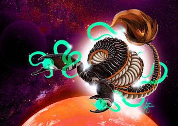 Scorpion Dragon by BonoMourits