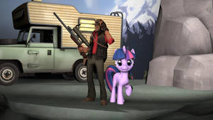 (SFM) Sniper and Twilight's Day Out by TheYoshiPunch