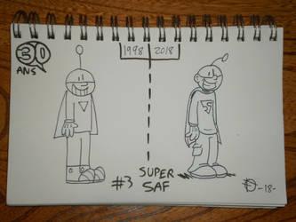 Defidessins_30 ans: #3 Super Saf by SuperSaf