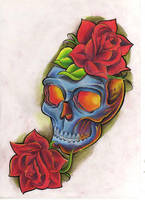 flash skull by WillemXSM