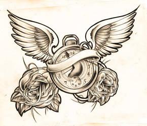 clock sketch by WillemXSM