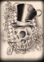 skull man by WillemXSM