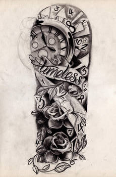 Timeless Sleeve Sketch by WillemXSM