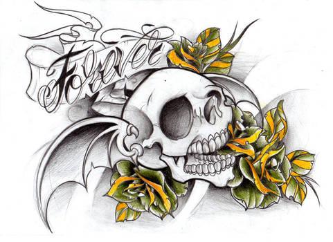 Deathbat sketch by WillemXSM