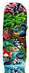 Alice in Wonderland sleeve by WillemXSM