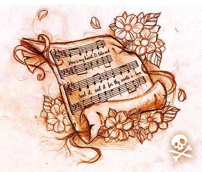 Sketch Music sheet by WillemXSM