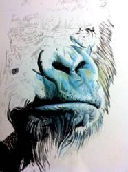 in progress portrait by WillemXSM