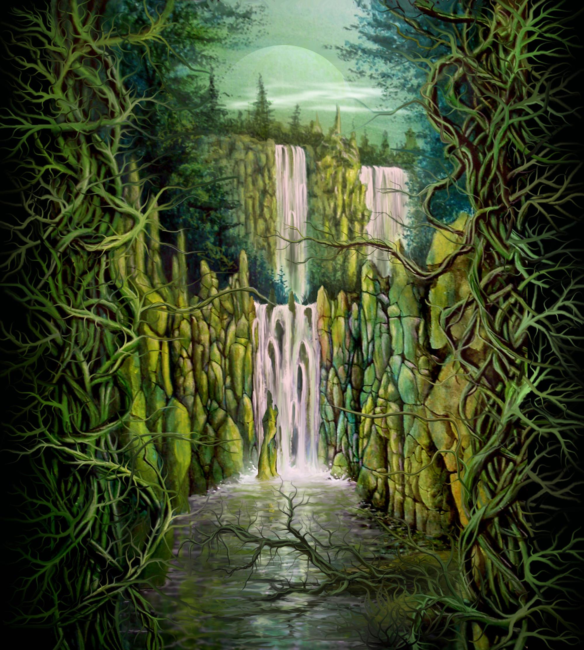 Waterfall by mac2010