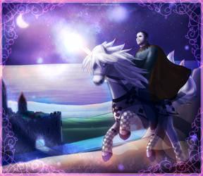 Hansi Kursch - Riding Prince by fluffycawwot