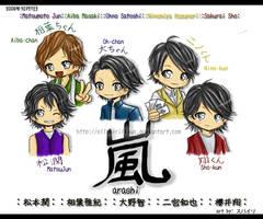 chibi Arashi by mist2ri-ell