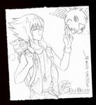 Sketchbook #38 - Gotcha! by ElfBean