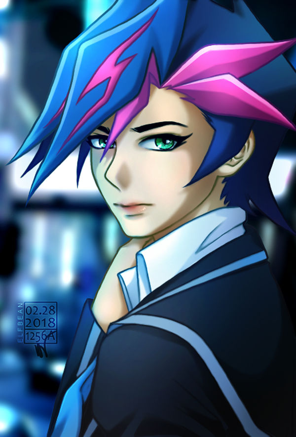 Goodnight, Yusaku! by ElfBean