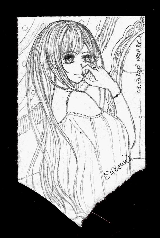 Sketchbook #79 - The Queen by ElfBean