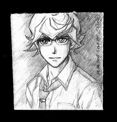 Sketchbook #84 - Takeru by ElfBean