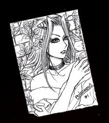 Sketchbook #87 - Poisonous by ElfBean