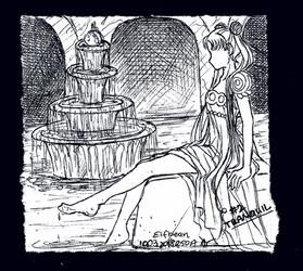 Sketchbook #88 - Tranquil by ElfBean