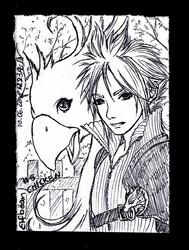 Sketchbook #91 - Chicken by ElfBean