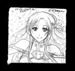 Sketchbook #94 - Asuna by ElfBean