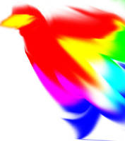 Bird of many Colors by ginkin99