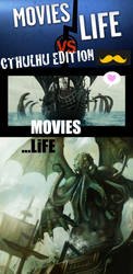 Movies VS Life by poulpinou