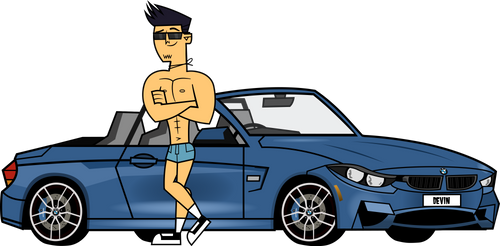 Devin BMW 4 Series Convertible (Commission) by Gordon003