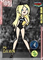 Dawn TimberWolves NBA 2K19 Card by Gordon003