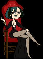 Gwen as Elvira (Halloween Sequel) by Gordon003
