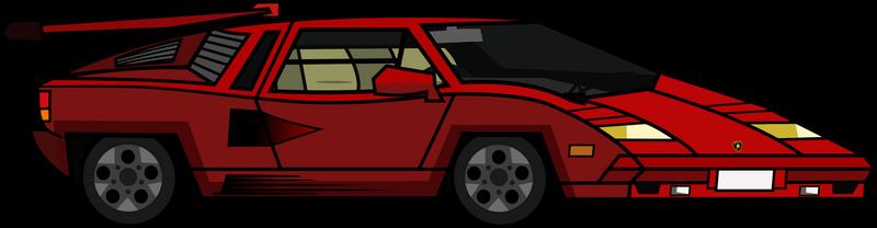 Td Lamborghini Countach Vector By Gordon003 On Deviantart