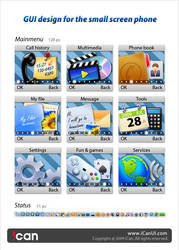 Mobile GUI Design 128x128 by iCanUI