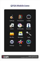 QVGA Mobile icon Design by iCanUI